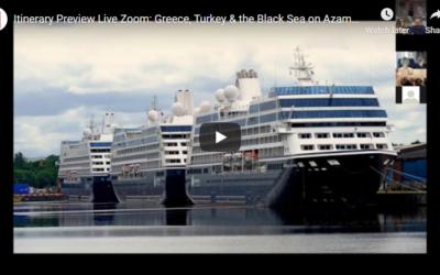 Itinerary Preview: Greece, Turkey & the Black Sea aboard the Azamara Quest